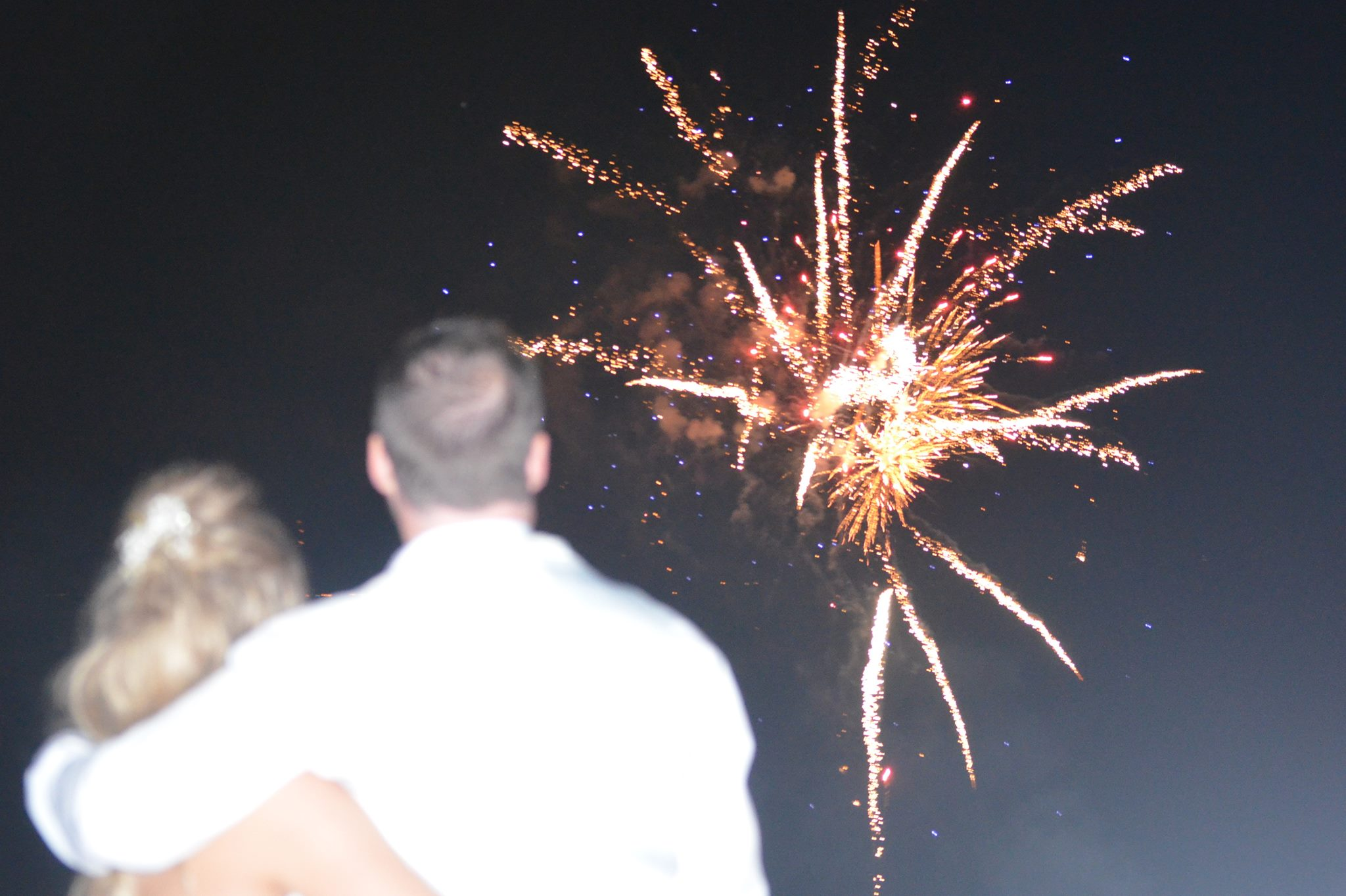 Wedding Fireworks Finale