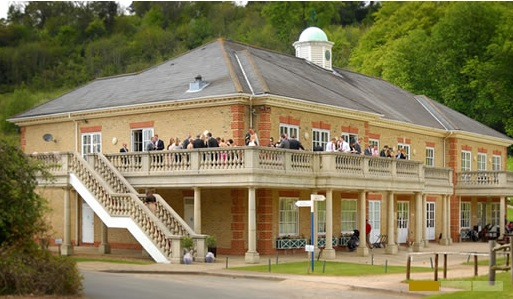 Wedding Fireworks at Woldingham Golf club